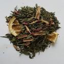Té verde canela y naranja